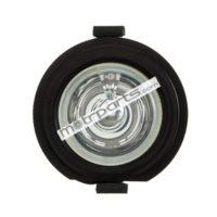 Mahindra Bolero Type 3 - Foglight Black Rim, Clear Glass, Without Coupler - FF-5002M