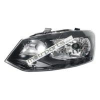 Volkswagen Polo, Vento - Headlight Left Black Bezel - HL-5594A