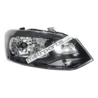 Volkswagen Polo, Vento - HeadLight Right Black Bezel - HL-5593A