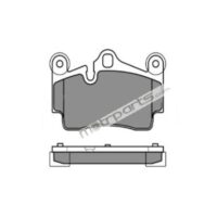 Audi Q7 - Rear Platinum Brake Pad - 025 236 9417PD