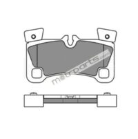 Audi Q7 - Rear Platinum Brake Pad - 025 242 9616PD