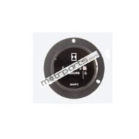 DC Hour Meter With LED 52mm 10-28V