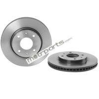Mitsubishi Cedia - Front Disc Rotor Vented - 09A14841