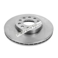 Skoda Laura, Superb and Volkswagen Jetta, Passat - Front Disc Rotor Vented Automatic 115 521 1045