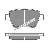 Skoda Laura, Yeti Type 2 and Volkswagen Jetta Type 2 - Rear Brake Pad 025 245 6317